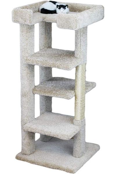 New-Cat-Condos 65-Inch Cat Tower