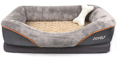 JOYELF Orthopedic Memory Foam Bed