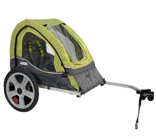 InStep Sync Single-Seat/Double Seat Foldable Bike Trailer