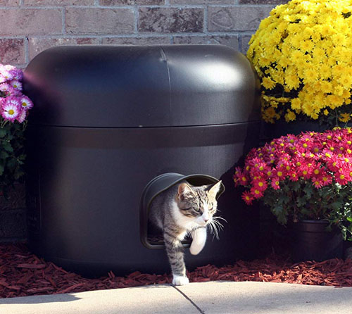 Kitty Tube Gen 3 The Outdoor Insulated Cat House
