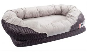BarksBar Snuggly Sleeper Orthopedic Dog Bed