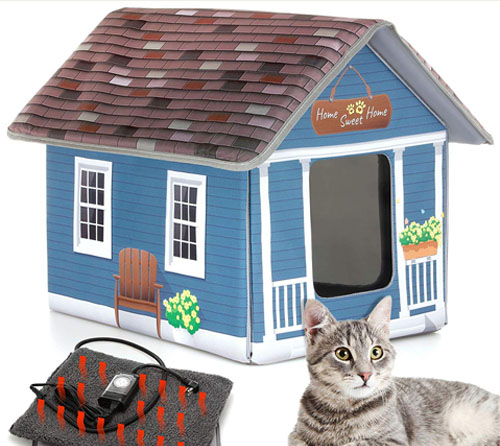 PETYELLA Outdoor Cat House