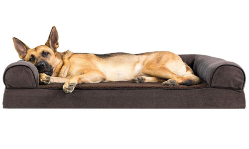 FurHaven™ Dog Ped Orthopedic Traditional Couch Bed