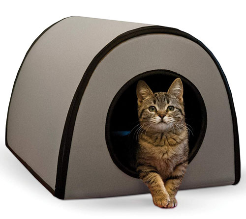 K&H Pet Products Thermo-Kitty Shelter