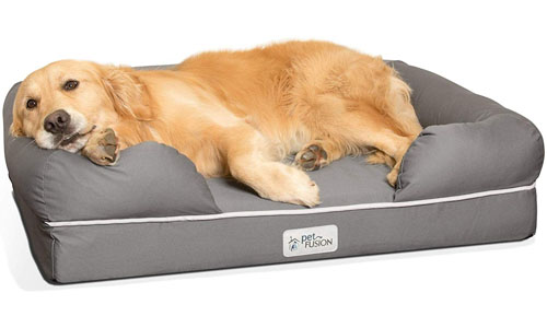 PetFusion The Ultimate Dog Bed & Lounge| Orthopedic Memory Foam Mattress