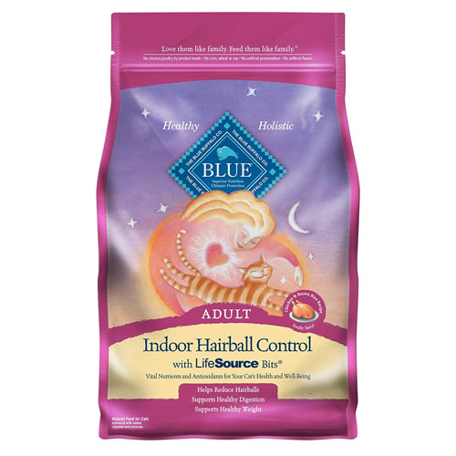 Blue Indoor Hairball Control