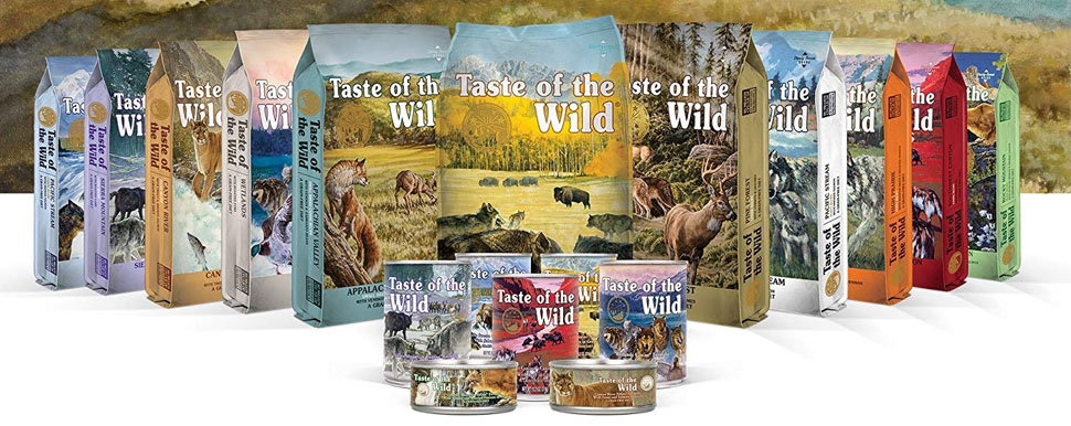 Taste of the Wild Grain Free High Protein