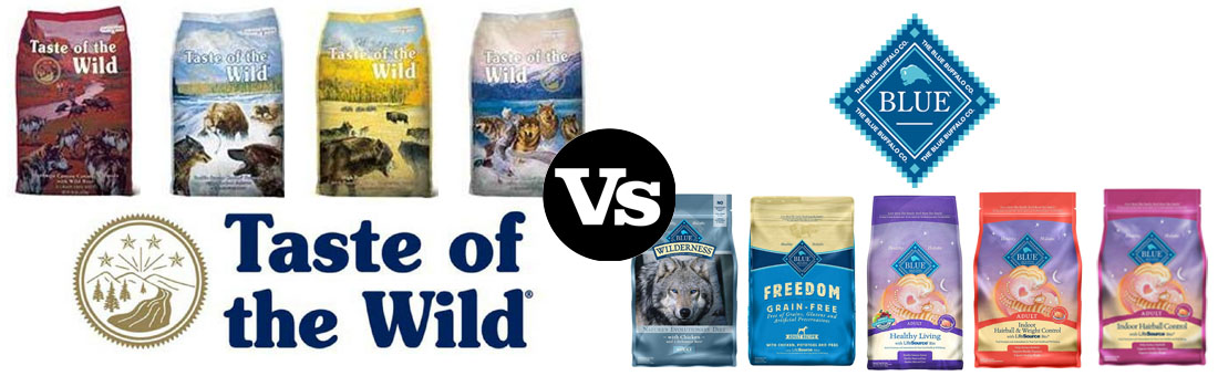Taste of the Wild vs. Blue Buffalo