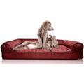 Furhaven Orthopedic Foam Bed Plush Sofa