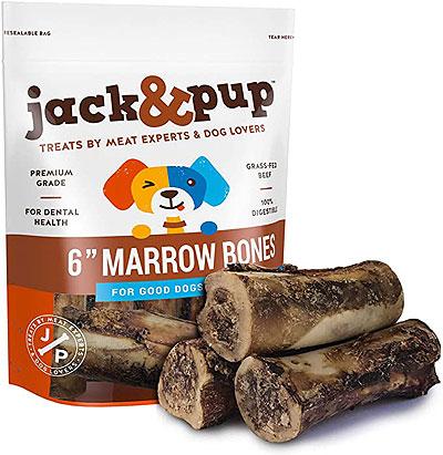 Jack & Pup Premium-Grade Roasted Beef Marrow Bone