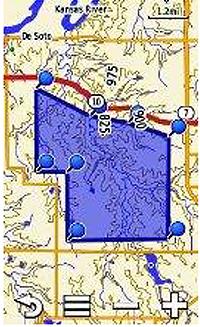 garmin 100 map