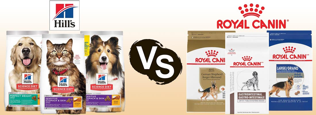 Royal Canin vs. Hill's