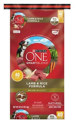 Purina ONE SmartBlend Lamb & Rice Adult Dry Dog Food