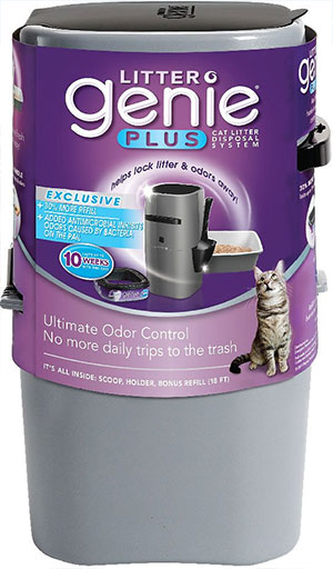 Litter Genie Plus Cat Litter Disposal System